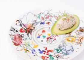 Avocat et araignee de mer ¥7000